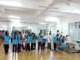 成飞社区卫生服务中心开展2015年中小学生体检工作