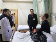 中航工业成飞董事长程福波等公司领导到成飞医院慰问住院职工