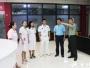 成都市青羊区政府副区长杜朝伦视察成飞医院2017年度征兵体检工作