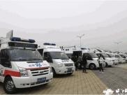 成飞医院在成都市城西片区卫生应急紧急医学救援拉动集结演练中第一家到达