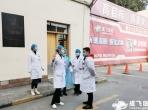 成飞医院刘作林院长农历春节对医院发热门诊工作进行现场检查