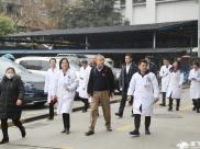 通用技术集团医疗健康有限公司党委书记、董事长魏晓龙一行到成飞医院调研