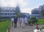 四川省成都市青羊区人大常委会副主任孙健一行到通用医疗成飞医院督导疫情防控工作